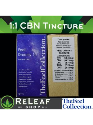 ReLeaf Feel Dreamy Tinct CBN 1:1 by The Feel Collection - $60