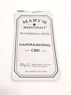 MARY'S Patch: CBD - $15