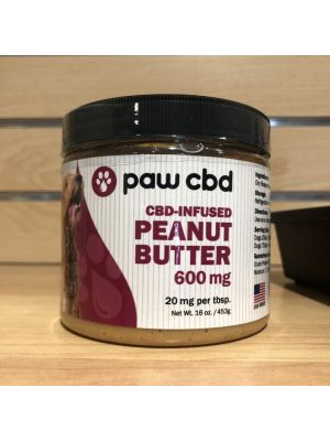 RR Pet CBD Peanut Butter by Paw CBD - 600mg - $74.19