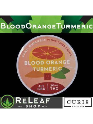 Blood Orange Tumeric 4:20 Medicated Chews - $45