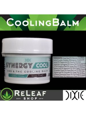 ReLeaf Synergy Cooling Relief Balm by Dixie Brands - $30