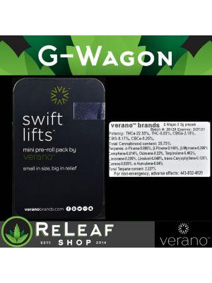 ReLeaf Verano G-Wagon Swift Lifts by Verano - $40