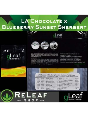 LA Chocolat x Blueberry Sunset Sherbert Pull & Snap -  $50