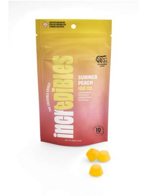 ReLeaf Incredibles Summer Peach Lozenge by Dr. GT - 100mg - $25