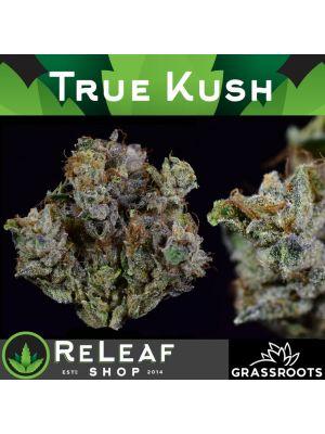 ReLeaf True Kush by Grassroots 1/8 - $55