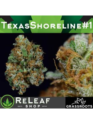 ReLeaf Texas Shoreline #3 by Grassroots 1/8 - $55