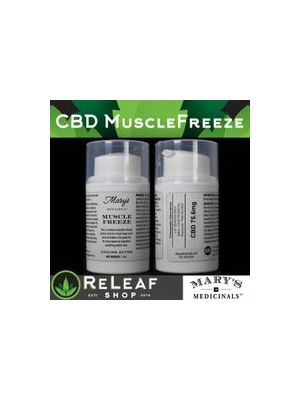ReLeaf Muscle Freeze CBD by Mary's Medicinals - $40