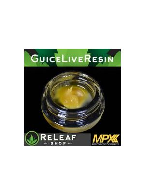 The Guice Live Resin Badder - $80