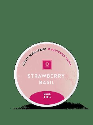 ReLeaf Strawberry Basil 25mg Chews by Curio Wellness - $45