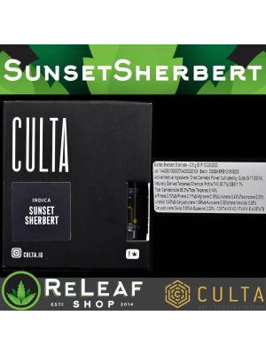 ReLeaf Culta Sunset Sherbert Vape Cart by Culta - $50