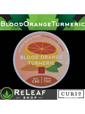 Blood Orange Turmeric 2:20 Medicated Chews - $45