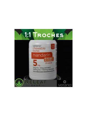 Verano Mandarin Troches 1:1 THC:CBD - $25