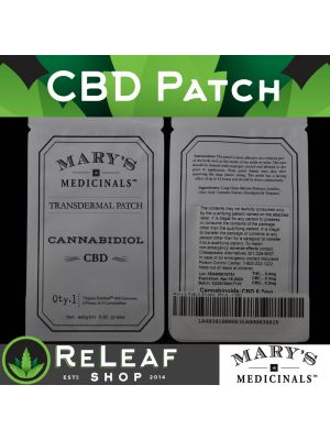 ReLeaf CBD Patch by Mary's Medicinals - $18