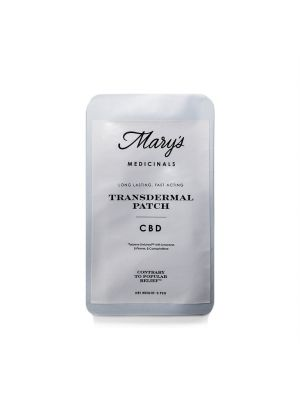 Remedy Mary's Medicinals | CBD Transdermal Patch - $18
