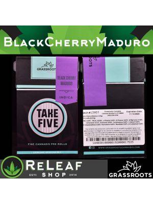 Black Cherry Maduro Take Five - $40