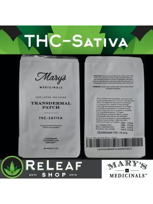 ReLeaf Transdermal Sativa Patch by Mary's Medicinals - $20