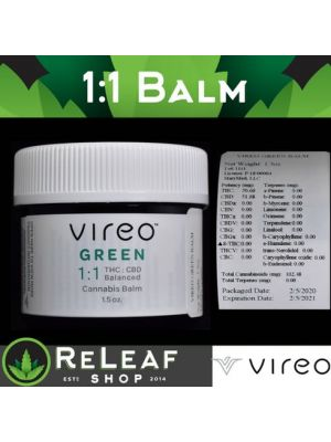 ReLeaf Green Balm 1:1 by Vireo Health - $30